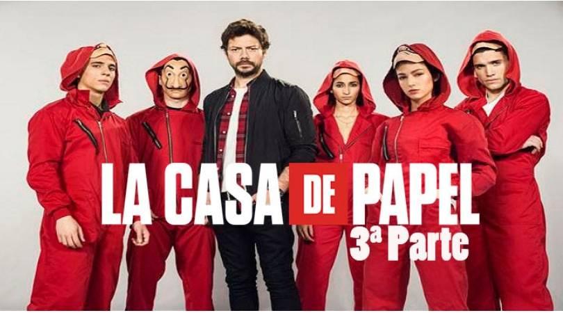 Money Heist Season 3 ซีรี่ย์ชื่อดังแนวโจรกรรมของสเปน