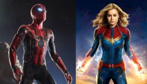เจอทางออกแล้ว ! Marvel จะให้ SpiderMan ตกหลุ่มรัก Captain Marvel ลือหนาหูถึงขั้นมีความสัมพันธ์ในภาคต่อไป